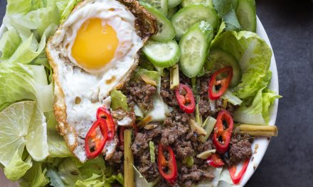 Whole30 Thai Larb Salad