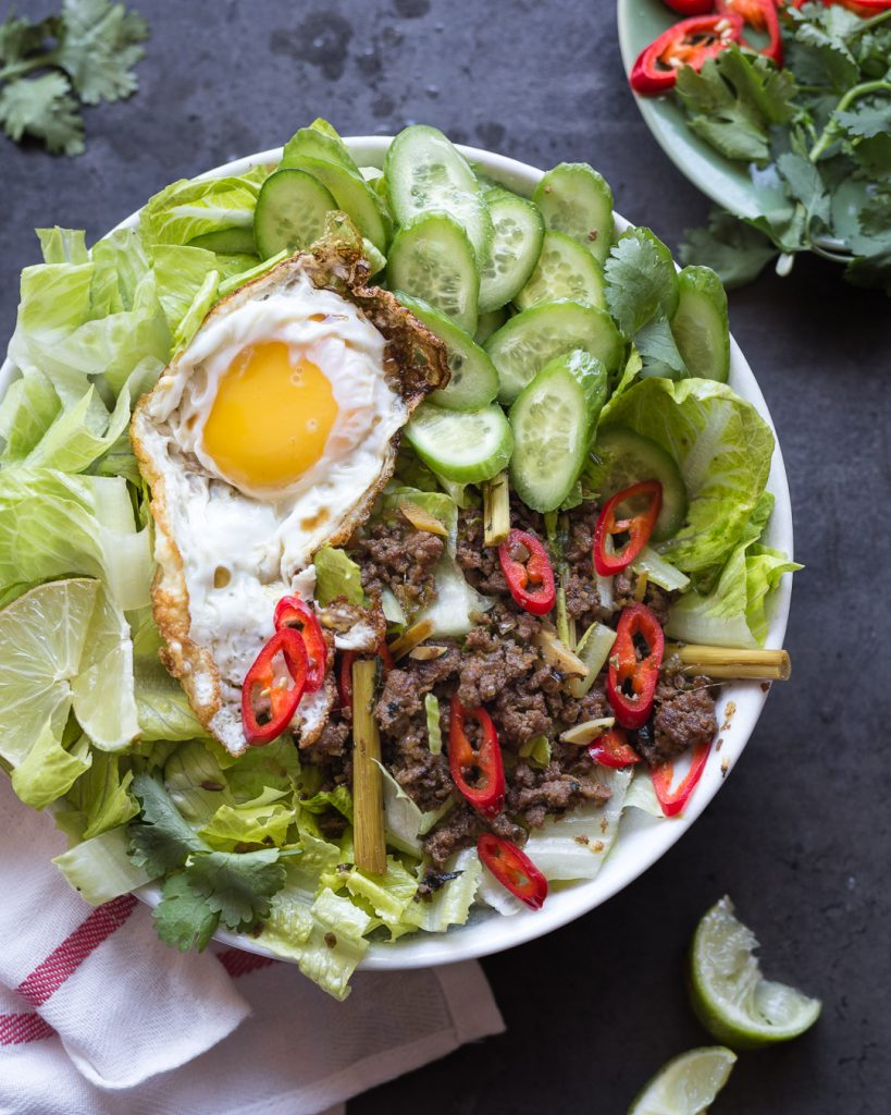 Whole30 Thai Larb Primal Gourmet Easy Paleo Recipe