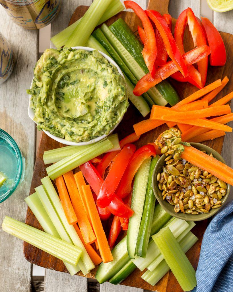 Whole30 Guacamole Spiced Pepitas Primal Gourmet Paleo Easy Recipe