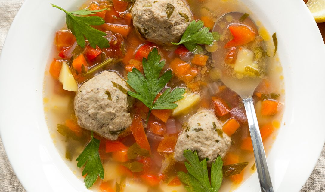 Whole30 Romanian Meatball Soup – Ciorba de Perisoare