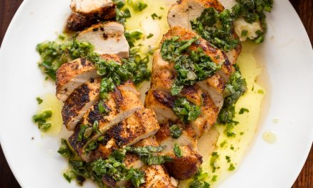 Whole30 Pan-Roasted Chicken Breast with Salsa Verde