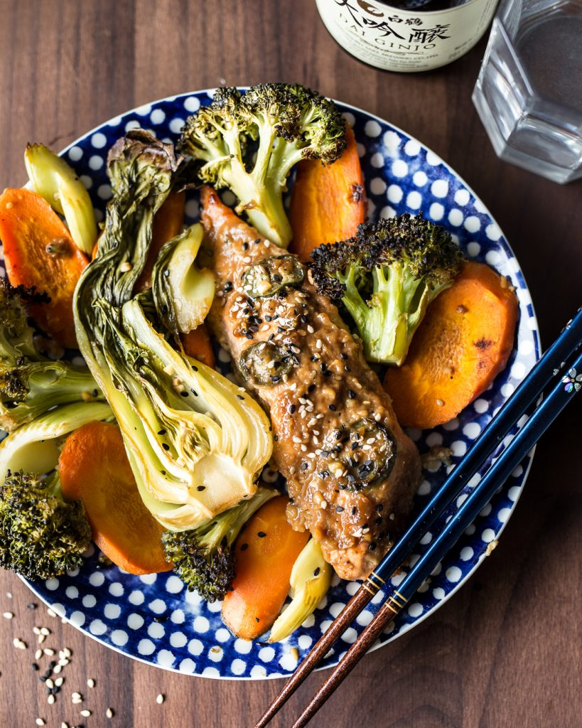 Sheet Pan Asian Salmon with Vegetables Paleo Primal Gourmet Whole30 Dinner Ideas