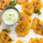 Tostones Avocado Crema Whole30 Paleo Primal Gourmet Easy