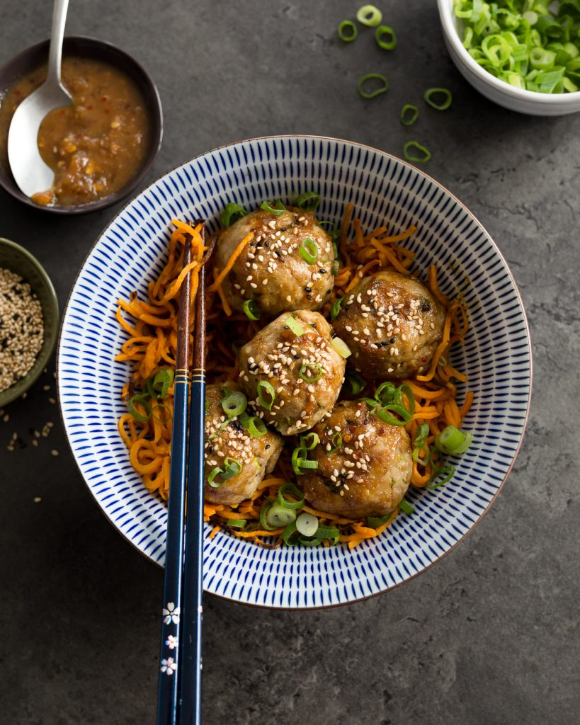 Whole30 Orange Chicken Meatballs Paleo Primal Gourmet Easy