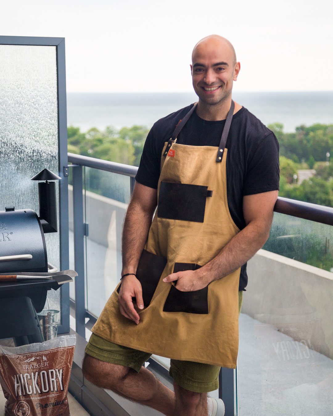 Giveaway - Traeger Canvas and Leather Apron