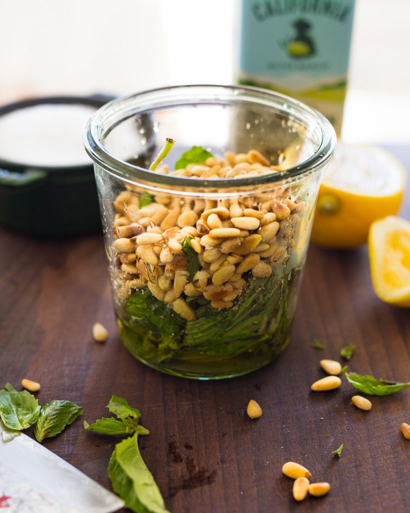 Easy Basil Pesto Whole30 Paleo Primal Gourmet