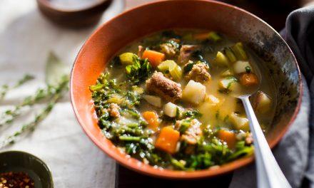 Sausage, Potato and Kale Soup – Whole30