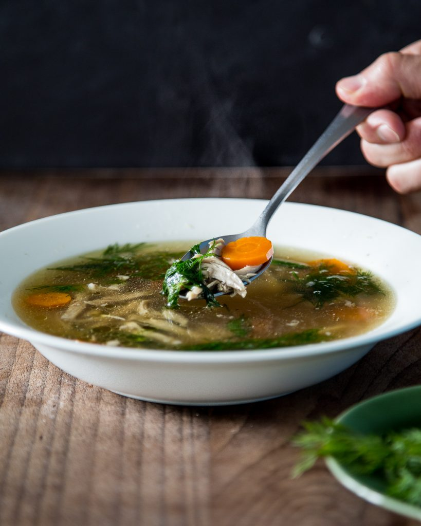 Mama's Chicken Soup Jewish Penicillin Whole30 Paleo Primal Gourmet Ronny Joseph Easy How To