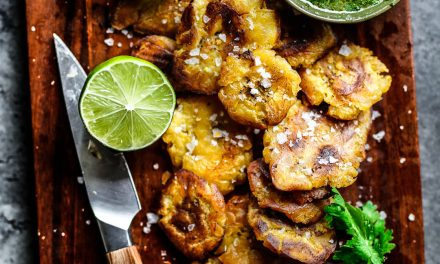 Tostones with Mojo – Whole30