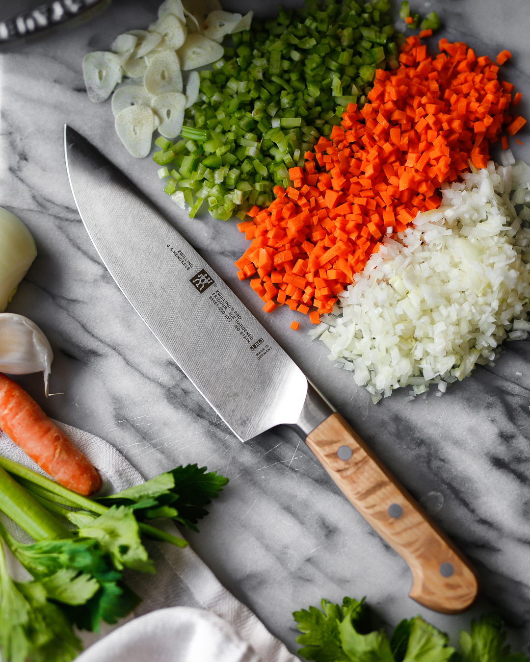 Zwilling Pro Blonde Chef Knife Giveaway Primal Gourmet