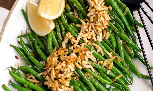 Green Bean Almondine – Whole30
