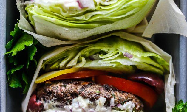 Whole30 Greek Burgers