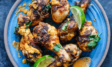 Grilled Thai Curry Chicken Drumsticks – Whole30