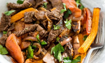 Whole30 Lomo Saltado