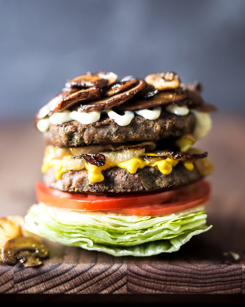 Tribali Foods Primal Gourmet Double Decker Buger Recipe Whole30 Paleo Easy