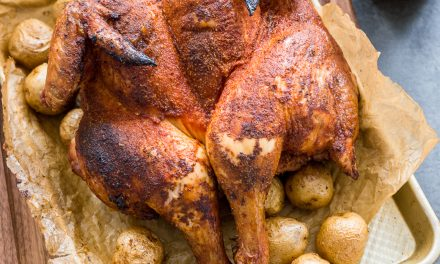 Traeger Smoked Chicken and Potatoes – Paleo