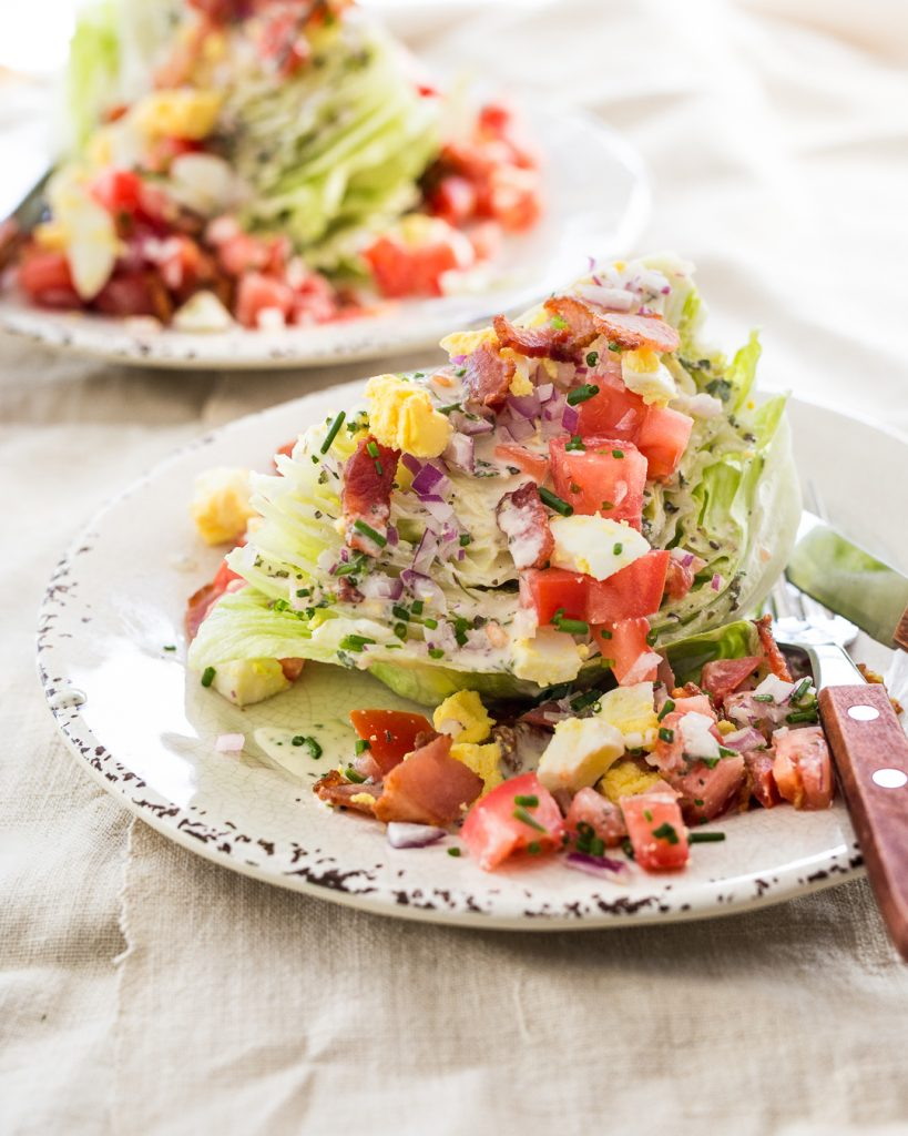 Classic Wedge Salad Whole30 Ranch Dressing Paleo Primal Gourmet Easy Weeknight Dinner