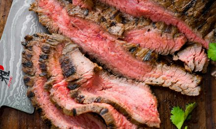 Flank Steak Fajitas – Whole30, Paleo