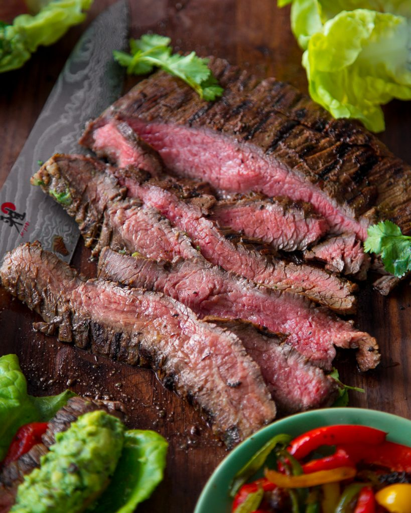 Flank Steak Fajitas Whole30 Paleo Primal Gourmet Easy Recipe