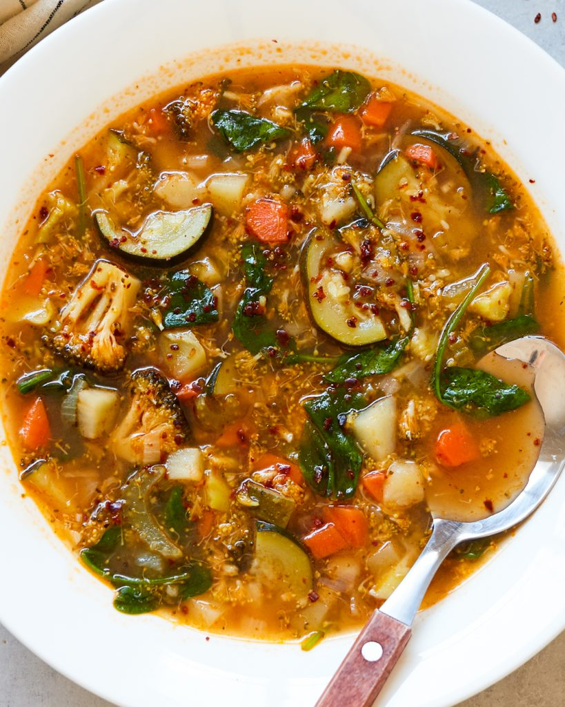 Minestrone Soup Whole30 Paleo Primal Gourmet Easy Quarantine Pantry Recipe