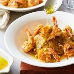 Mofongo with Mojo Shrimp Whole30 Paleo Primal Gourmet Puerto Rican Recipe