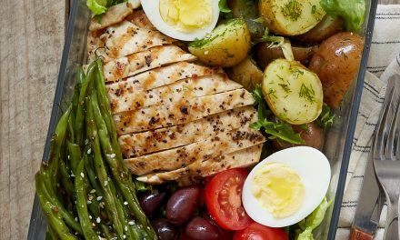 Grilled Chicken Niçoise Salad – Whole30