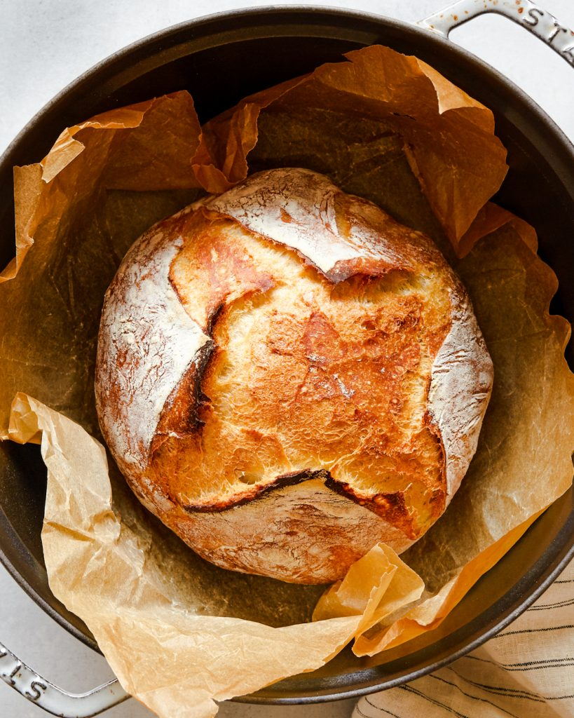 Easy No-Knead Bread Primal Gourmet