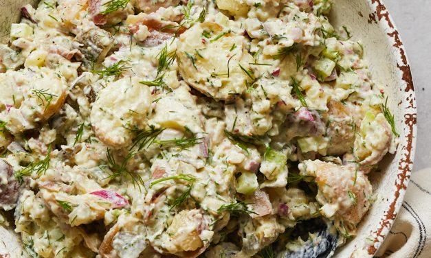 Creamy Whole30 Potato Salad