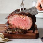 Herb Crusted Prime Rib Reverse Seared Paleo Primal Gourmet Whole30 Easy Thanksgiving Day Recipe