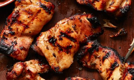 Grilled Rosemary Orange Honey Garlic Chicken (Paleo)