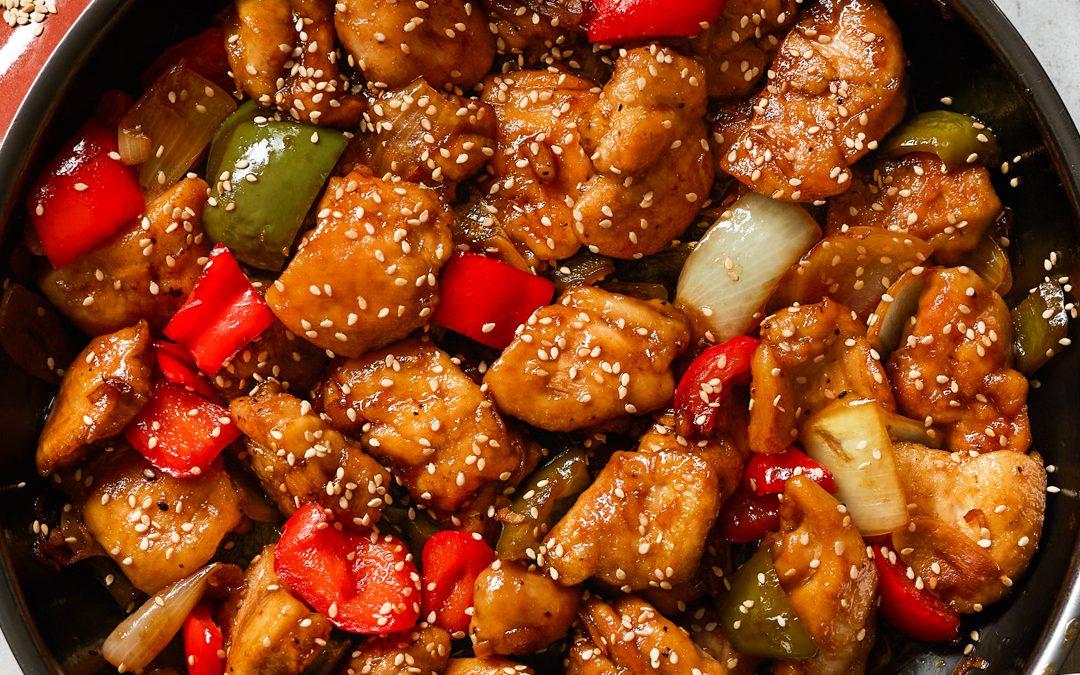 Paleo Sesame Chicken (Gluten-Free & Grain-Free)