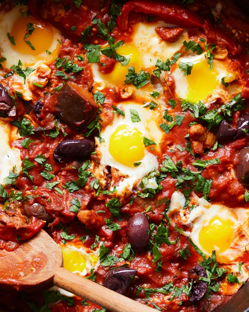 Easy Shakshuka Recipe Whole30 Paleo Primal Gourmet Best Breakfast Tomato Eggs