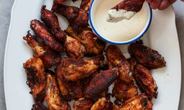 Smoked Chicken Wings – Paleo
