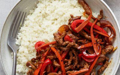 Whole30 Spicy Beef Stir Fry – Paleo