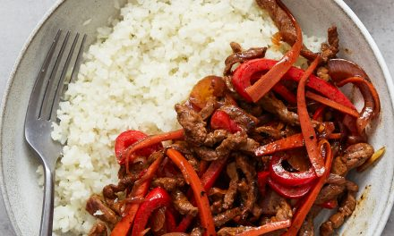 Whole30 Spicy Beef Stir Fry – Paleo