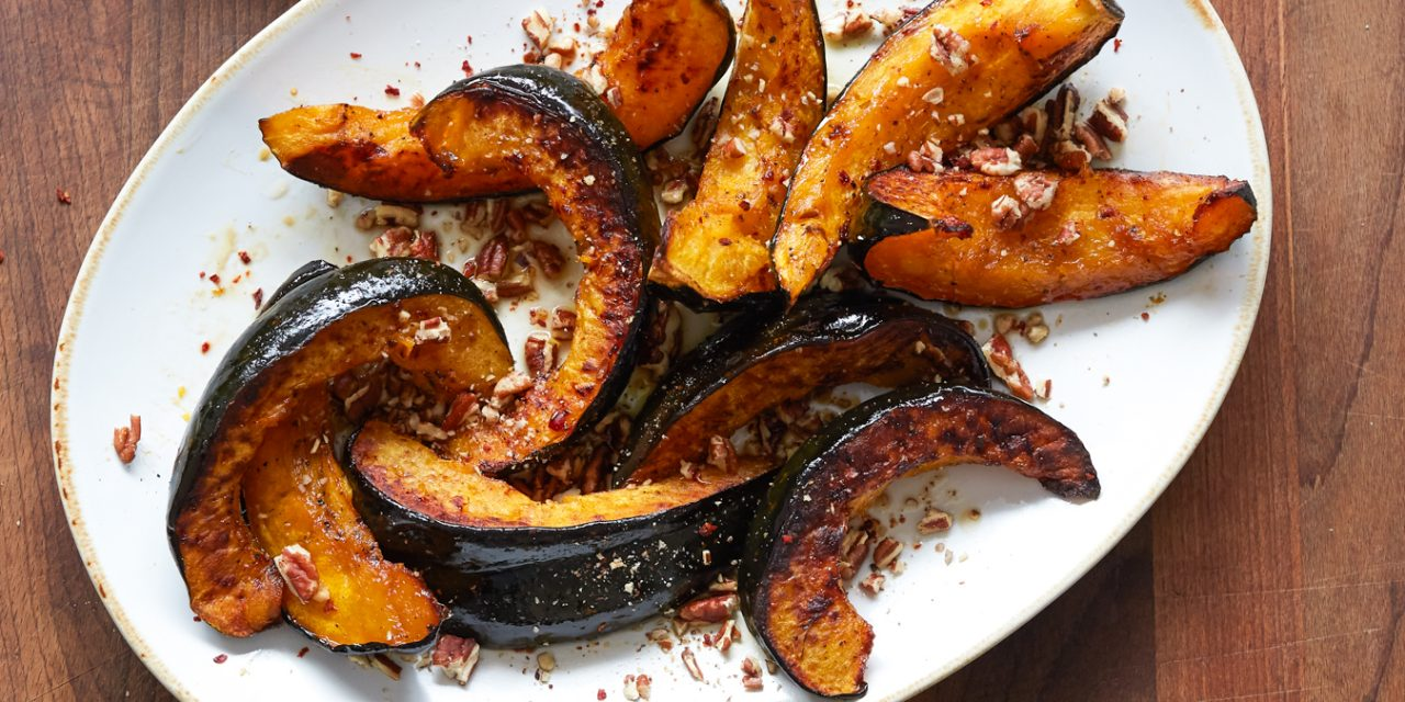 Sweet and Sour Roasted Squash