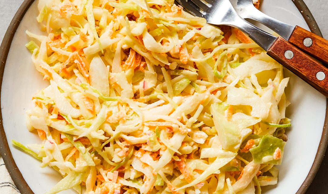 Basic Coleslaw Recipe – Paleo