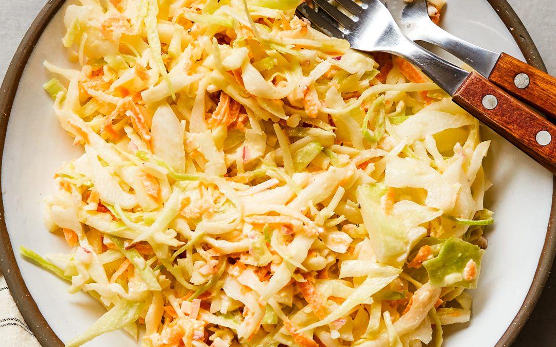 Basic Coleslaw Recipe – Paleo