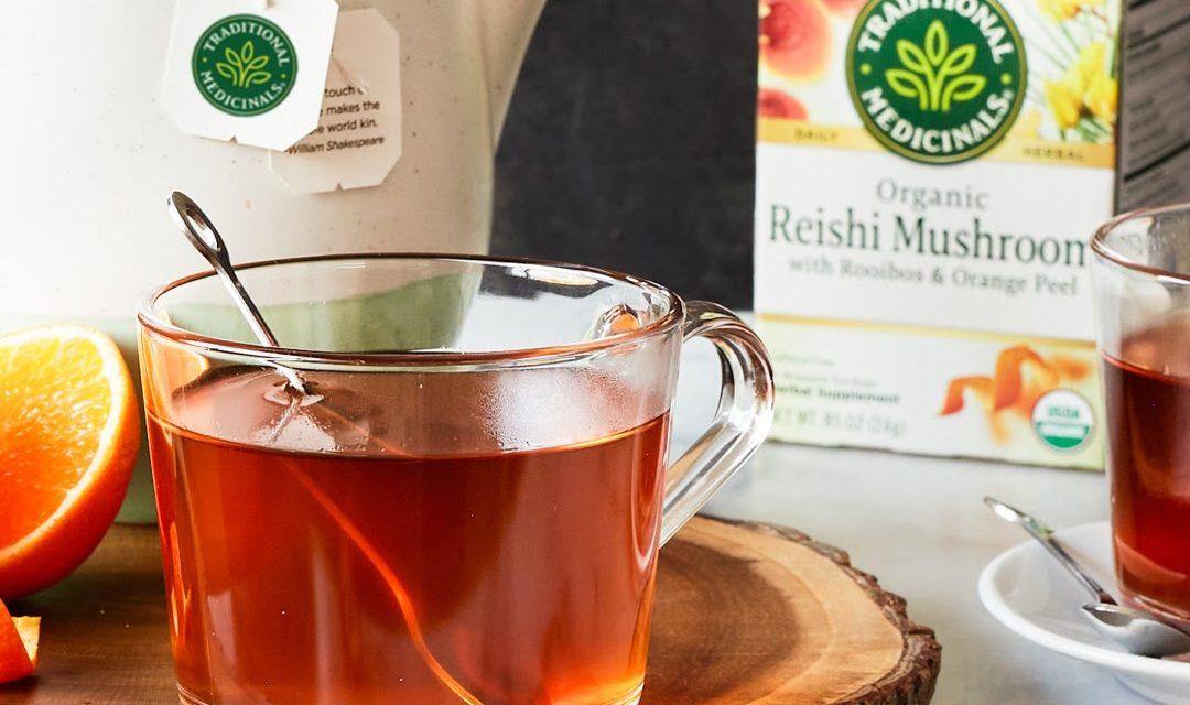 Reishi Mushroom with Rooibos and Orange Peel – Traditional Medicinals