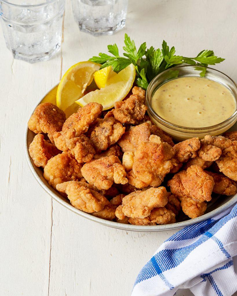 Paleo Popcorn Chicken Honey Mustard Primal Gourmet Easy Recipe
